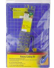 Dritz Rotary Cutter Cutting Mat Cutter Ruler Quilting Sewing Scrapbooking - Kit
