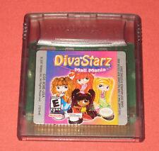 Diva Starz: Mall Mania (Nintendo Game Boy Color, 2000) **FREE SHIPPING**