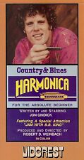 COUNTRY & BLUES HARMONICA FOR THE ABSOLUTE BEGINNER WITH JON GINDIK DVD