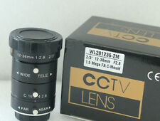 1pc New Wollas WL281236-2M 12-36MM focal length 2 million pixel industrial lens
