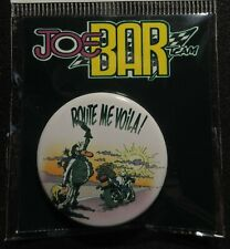 Pin Button Badge Ø38mm    JOE BAR TEAM #6