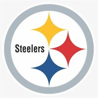 Pittsburgh Steelers #1 NFL Logo Die Cut Vinyl Decal Buy 1 Get 2 FREE