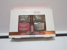 BUTTER LONDON X BARBIE LTD LIFE IN THE DREAM  HOUSE NAIL POLISH SET~CRUELTY FREE