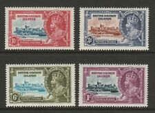 Br.Solomon Is.1935 Silver Jubilee set SG 53-56 Mint.