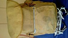 VINTAGE BOY SCOUTS OF AMERICA 1307 CANVAS BACKPACK wCRUISER ALUMINUM PACK FRAME