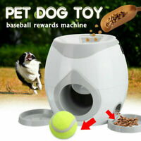 Automatic Dog Ball Fetch Tennis Thrower Roller Hyper Training Game Toys Outdoor