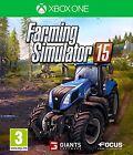 FARMING SIMULATOR 15 2015 NUEVO PRECINTADO EN CASTELLANO XBOX ONE