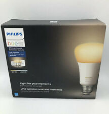 Philips Hue White Ambiance Smart Bulb Starter Kit Wireless Lighting