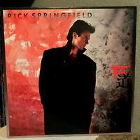 "RICK SPRINGFIELD - Tao - 12"" Vinyl Record LP - EX"