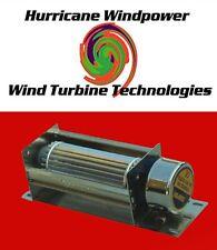 "12 Volt DC 5"" Crossflow Cooling Fan Solar Panel Wind Generator and Car Audio"