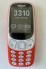 Nokia 3310 Red Dual Sim - Unlocked Smartphone REFURBISHED