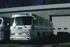 Mt View Coach Lines Gm Pd 4106 bus Kodachrome original Kodak slide