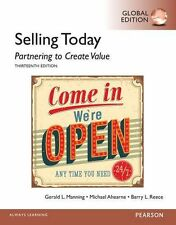 Selling Today: Partnering to Create Value 13E by Manning (Global Edition)