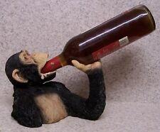 Wine Bottle Holder and/or Decorative Sculpture Chimpanzee New upper torso
