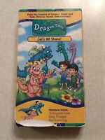 Dragon Tales Let's All Share VHS Tape PBS Kids