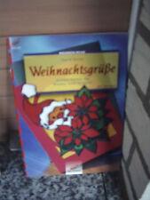 Weihnachtsgrüße, Schöne Karten aus Window Color & Papie
