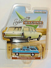 GREENLIGHT 29950 ESTATE WAGON 3 BLUE 1972 OLDSMOBILE VISTA CRUISER