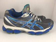 Asics Gel-Cumulus 14 Women US 8.5 Silver Running CrossFit Marathon Jog Shoes J37
