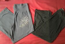 WOMENS PYJAMAS BOTTOM x 2 BUNDLE SIZE 18-20