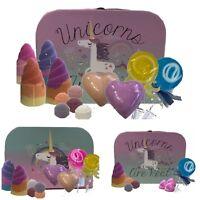 Unicorn Bath Bomb & Soap Gift Set - Ideal Christmas, Birthday Gifts