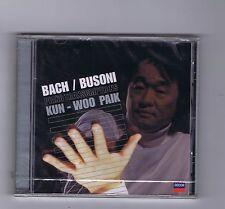 CD (NEW) BACH / BUSONI KUN WOO PAIK PIANO TRANSCRIPTIONS