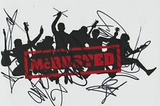 Mcbusted Signed 12X8 Autograph Photo - Busted & Mcfly - Pop Boy Band
