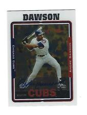 Andre Dawson Topps 2005 Autograph Card # TA-AD. Chicago Cubs