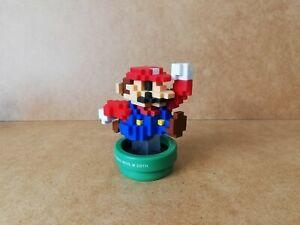 Nintendo Amiibo 30th Anniversary 8-Bit Modern Colours Mario Figure, Switch 3DS