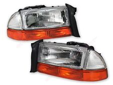 -pair-oe-replacement-headlights-park-signal-lights-for-19982003-dakota-durango