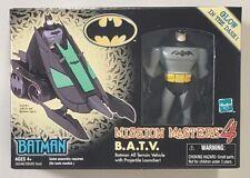 BATMAN MISSION MASTERS 4  B.A.T.V. WITH EXCLUSIVE BATMAN FIGURE