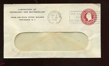 US New England Advertising Cover (Pathology & Bacteriology Lab) 1935 Providence,