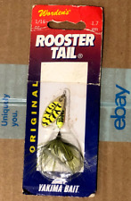 Yakima - Worden's Original Rooster Tail - Chatreuse Black Tiger - 206 CBT - New!