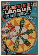 Justice League of America #6  1st appearance Amos Fortune 1961 DC create-a-lot