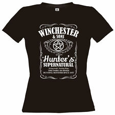 WINCHESTER  since 1937 T-SHIRT Brother Bros supernatural Sam Dean Uncle Bobby