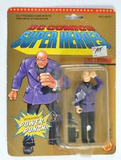 TOY BIZ 1989 DC COMICS SUPER HEROES LEX LUTHOR W/ BUTTON ACTIVATED POWER PUNCH