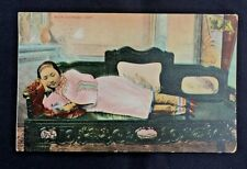 More details for 1908 shanghai brpo hong kong p/c dartmouth v siberia rich chinese lady tiny feet