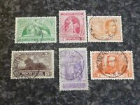 NEW ZEALAND POSTAGE REVENUE STAMPS SG453-8 1920 VERY FINE USED