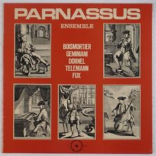 PARNASSUS ENSEMBLE: Boismorter, Telemann '76 Alpha Germany NM Vinyl LP