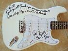 La Guns Tracii Phil Signed Autographed Guitar Slap In Face Lyric PSA Guaranteed for sale