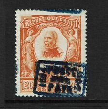 Haiti SC# 106 Mint Hinged w/ Blurred or Double Overprint - S7626