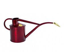Haws Zimmergießkanne 1 L ✿ Rot Metallic ✿ Rubinrot ✿ Gießkanne ✿ Blumengießkanne