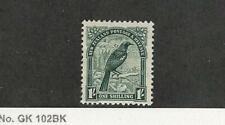 New Zealand, Postage Stamp, #196 Mint No Gum, 1935 Bird, JFZ