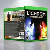 Lichdom: Battlemage - Replacement XboxOne Cover and Case. NO GAME!!!