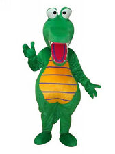 2017 Crocodile Alligator Mascot Costume Get Together Mascots Clothing Adult Size