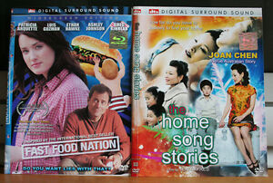 Breaking and Entering, Meet Dave, Fast Food Nation, The Home Song Stories, 4 DVD