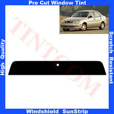 Pre Cut Window Tint Sunstrip for Daewoo Lanos 4 Doors Saloon 1997-2003 Any Shade