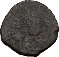 JUSTINIAN I 527AD Decanummium Ravenna Ancient Medieval Byzantine Coin  i32611