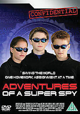 Adventures Of A Super Spy (DVD, 2007) NEW AND SEALED