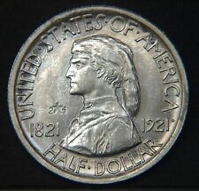 1921 Missouri  2*4  Commerative Half Dollar Scarce  Choice BU (C9736)