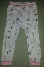 Size 3 pink floral cow leggings.